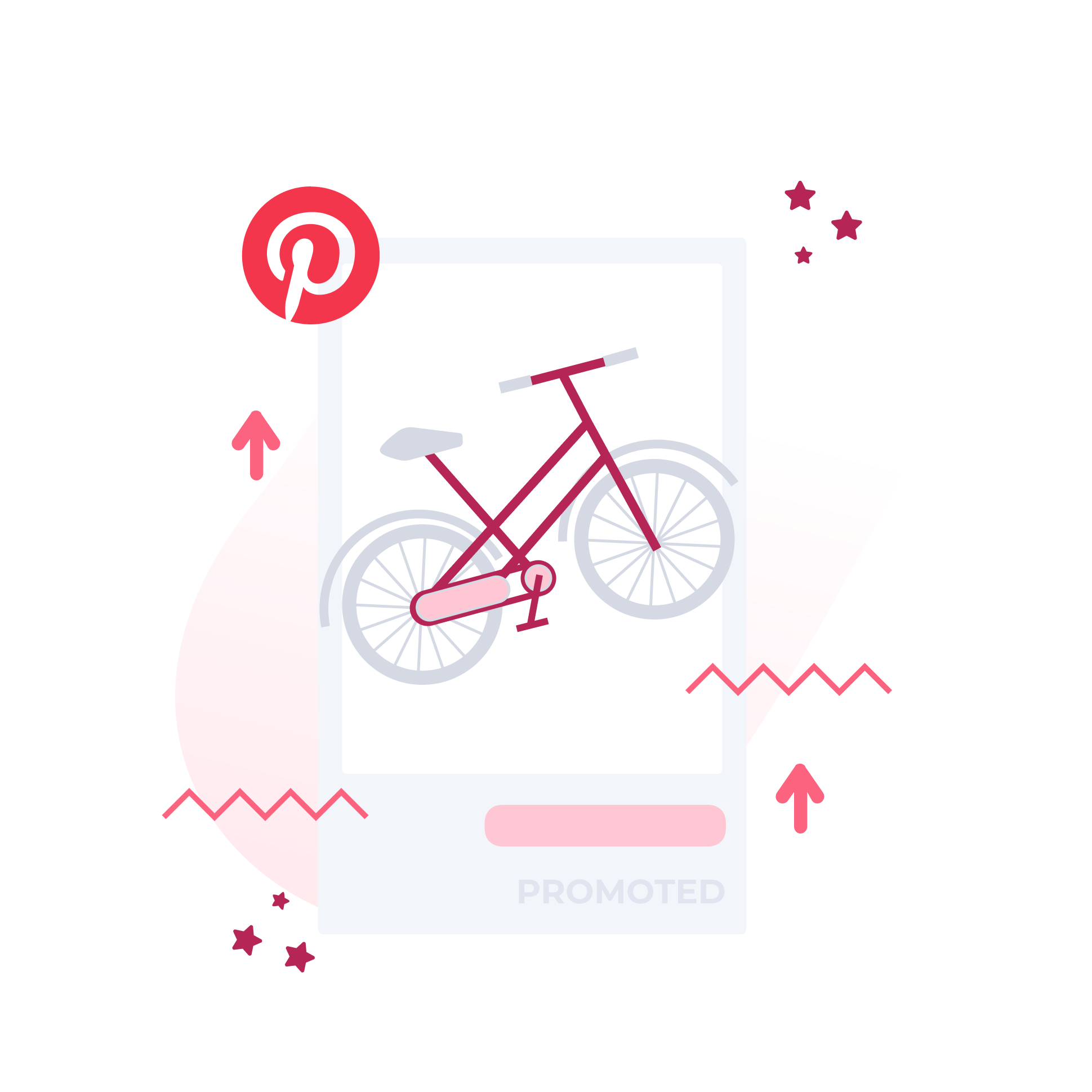 Bycicle on Pinterest UI