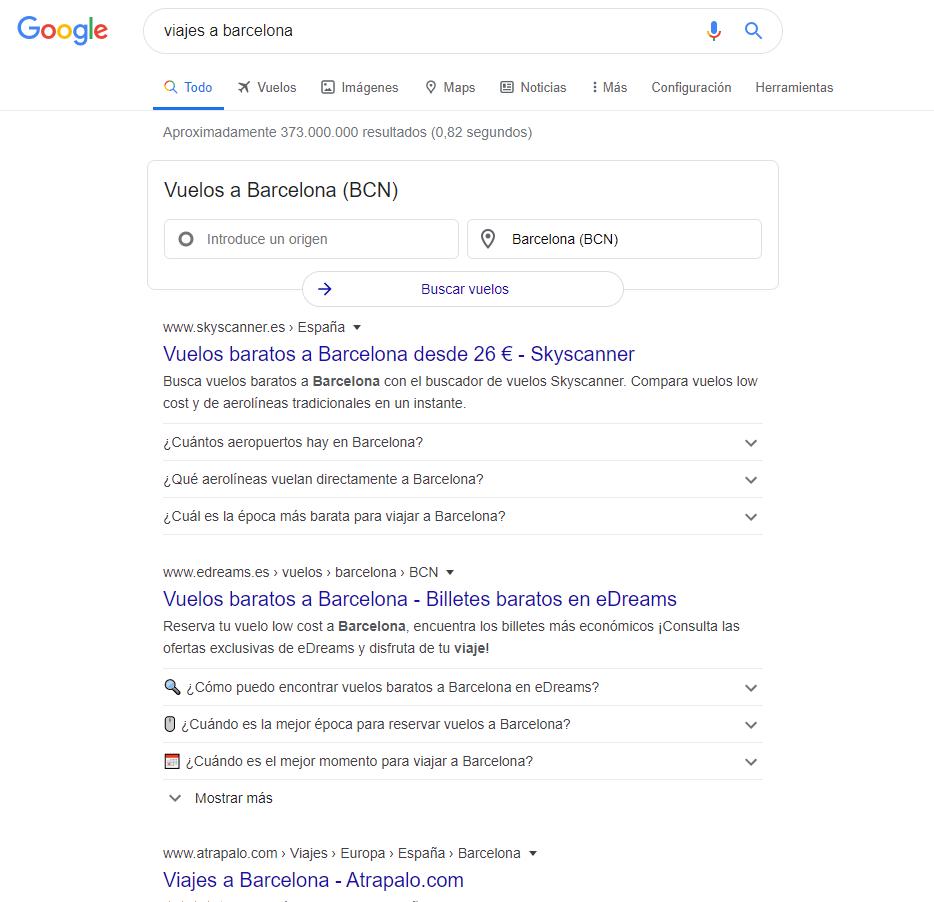 resultand-viagem-serp-google